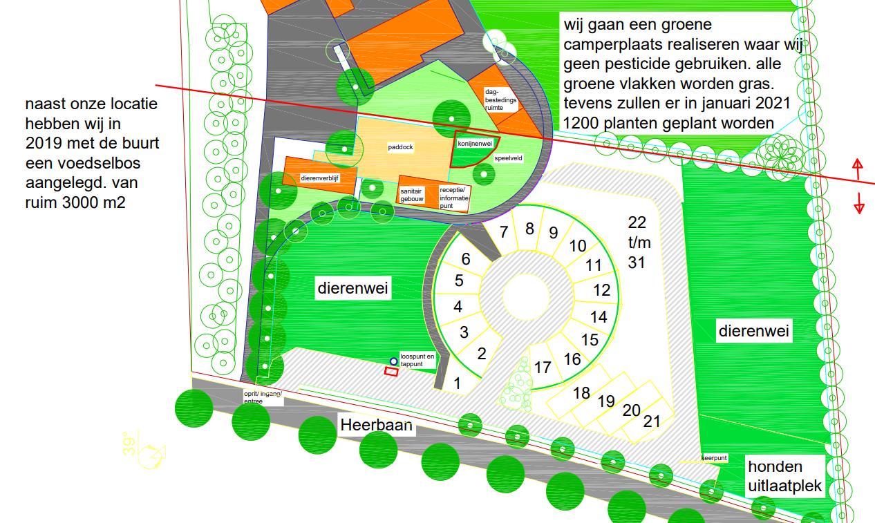 Houbenhof-map